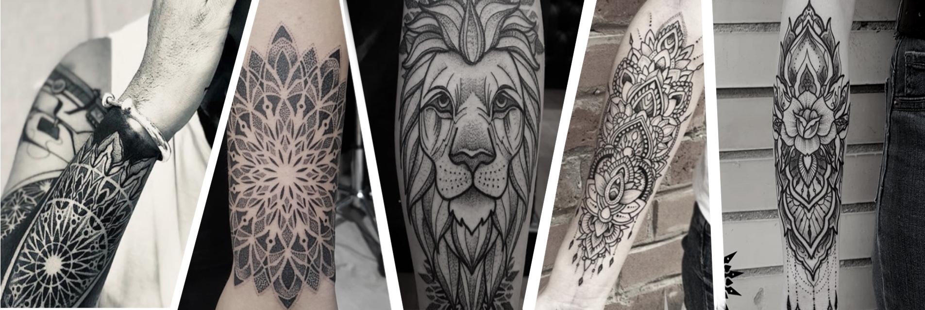 Tatuajes geometricos, mandalas1