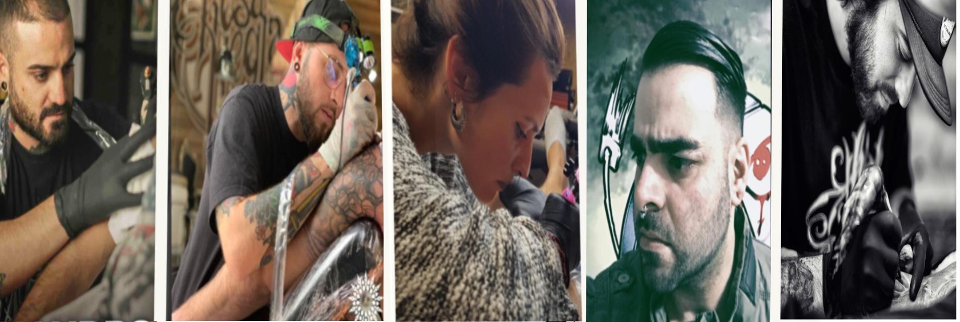 Tatuadores gas tattoo