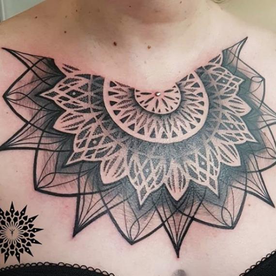 Tatuaje mandala 41
